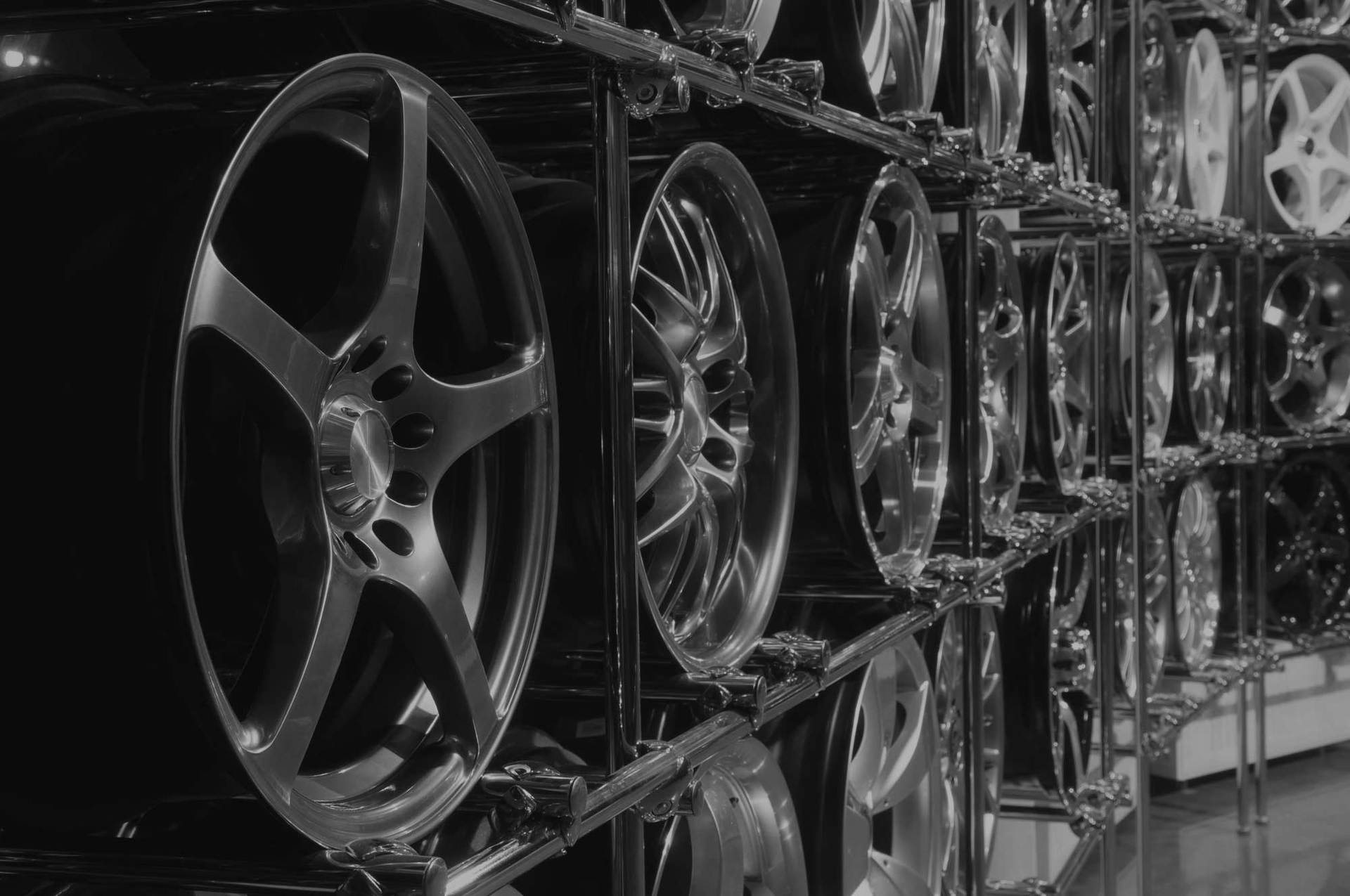 coloured alloy wheels